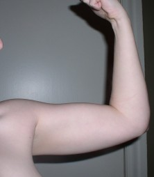 Biceps, 1 Month on Testosterone